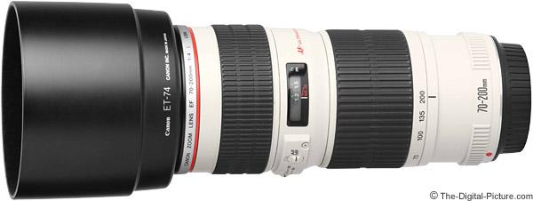 ET-86 Lens Hood For Canon EOS EF 70-200mm F//2.8L IS USM White UK Seller