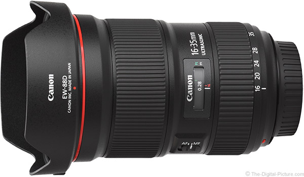 Canon EF 16-35mm f/2.8L III USM Lens Product Images