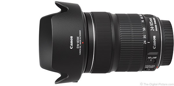 Canon EF 24-105mm f/3.5-5.6 IS STM Lens Product Images