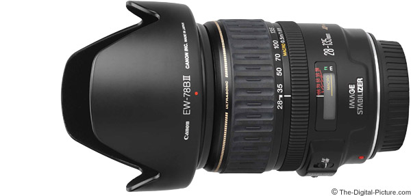 Canon EF 28-135mm f/3.5-5.6 IS USM Lens Product Images