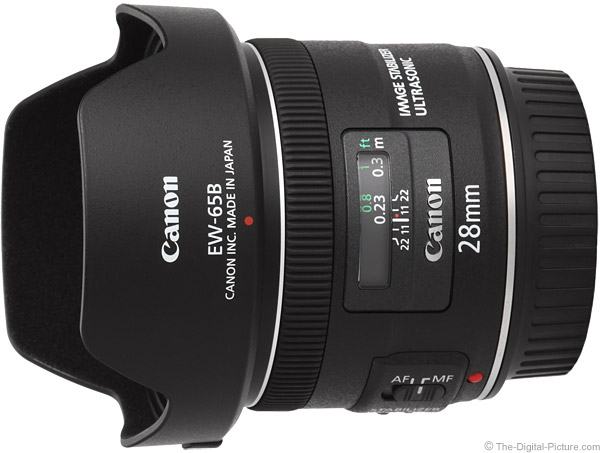 Canon EF 28mm f/2.8 IS USM Lens Product Images