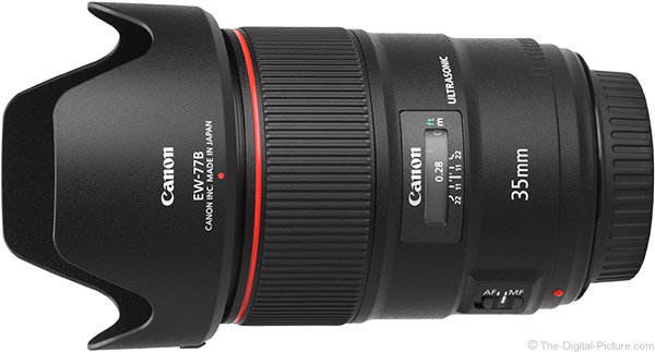 Canon EF 35mm f/1.4L II USM Lens Product Images