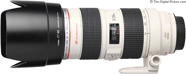 Canon EF 70-200mm f/2.8L IS USM Lens Product Images