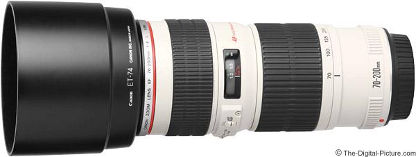 Canon EF 70-200mm f/4L USM Lens Product Images