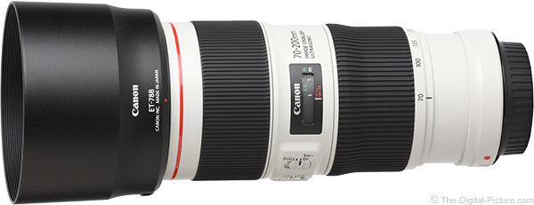 Canon EF 70-200mm f/4L IS II USM Lens Product Images