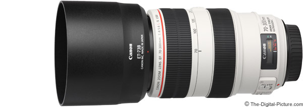 Canon EF 70 300mm F 4 56L IS USM Lens Product Images