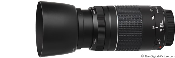 Canon EF 75-300mm f/4-5.6 III Lens Product Images