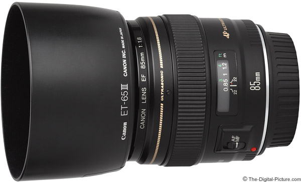 Canon EF 85mm f/1.8 USM Lens Product Images