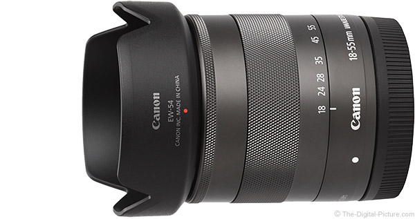 Canon EF-M 18-55mm f/3.5-5.6 IS STM Lens Product Images