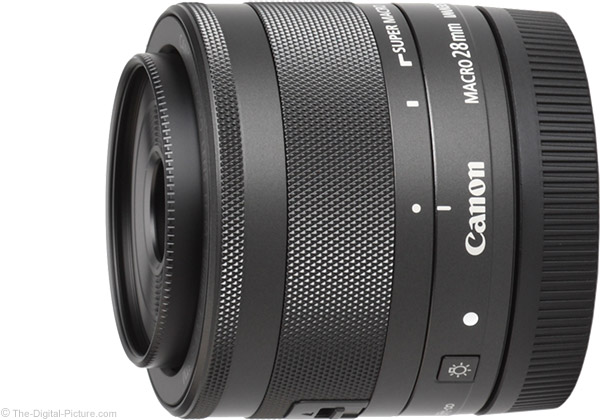 Canon EF-M 28mm f/3.5 Macro IS STM Lens Product Images