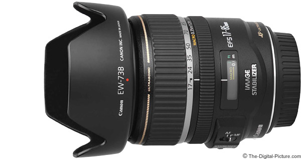 Canon EF-S 17-85mm f/4-5.6 IS USM Lens Product Images