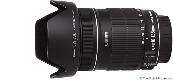 Canon EF-S 18-135mm f/3.5-5.6 IS Lens Product Images