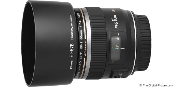 Canon EF-S 60mm f/2.8 Macro USM Lens Product Images