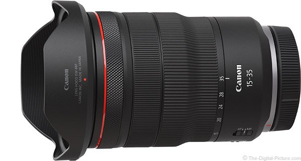 Canon RF 15-35mm F2.8 L IS USM Lens Product Images
