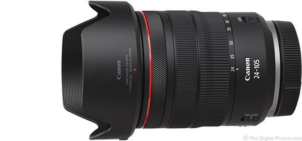 Canon RF 24-105mm F4 L IS USM Lens Product Images