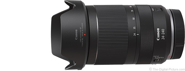 Canon RF 24-240mm F4-6.3 IS USM Lens Product Images