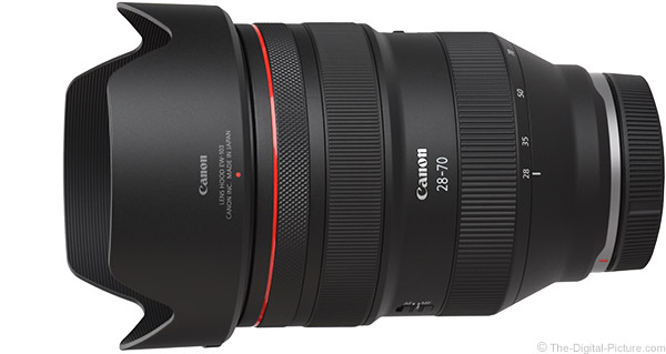 Canon RF 28-70mm F2 L USM Lens Product Images