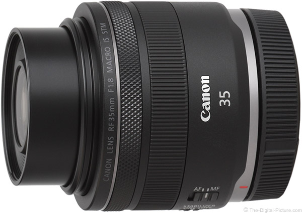 Canon RF 35mm f/1.8mm f/1.8 IS STM Macro Lens Product Images