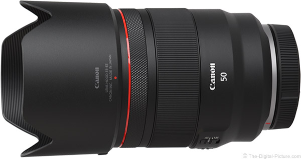 Canon RF 50mm F1.2 L USM Lens Product Images