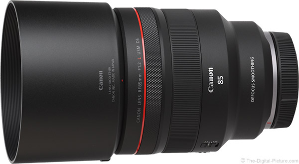 Canon RF 85mm F1.2 L USM Lens Product Images