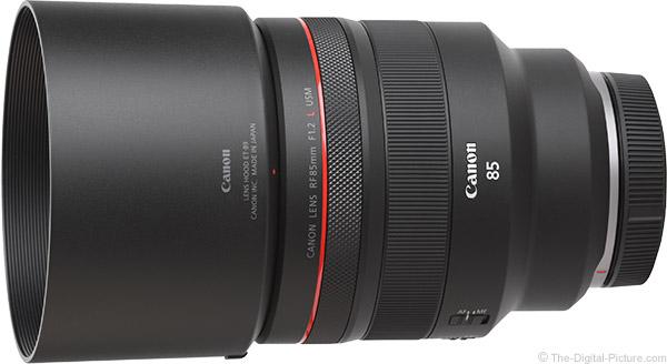 Canon RF 85mm F1.2 L USM Lens Product Images