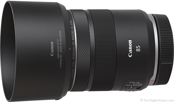 Canon RF 85mm F2 Macro IS STM Lens Product Images