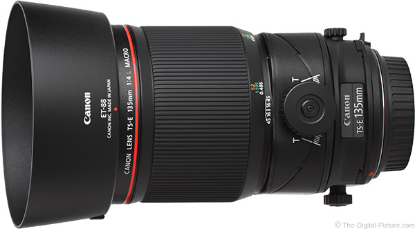 Canon TS-E 135mm f/4L Tilt-Shift Macro Lens Product Images