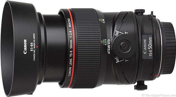 Canon TS-E 50mm f/2.8L Tilt-Shift Macro Lens Product Images