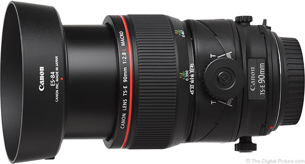 Canon TS-E 90mm f/2.8L Tilt-Shift Macro Lens Product Images