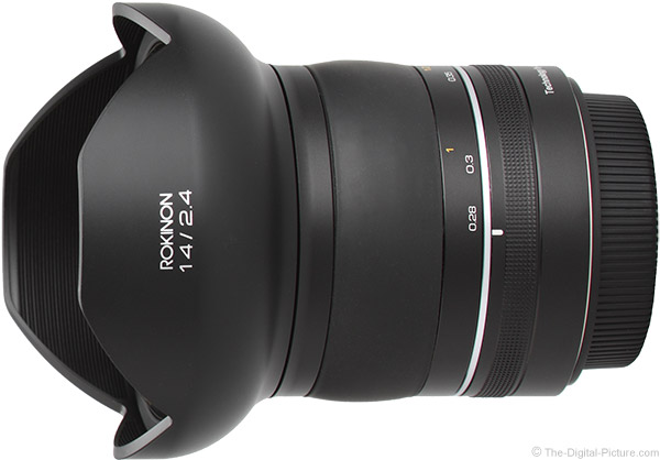 Rokinon SP 14mm f/2.4 Lens Product Images