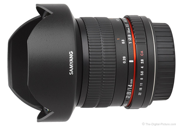 Samyang 14mm f/2.8 Lens Product Images