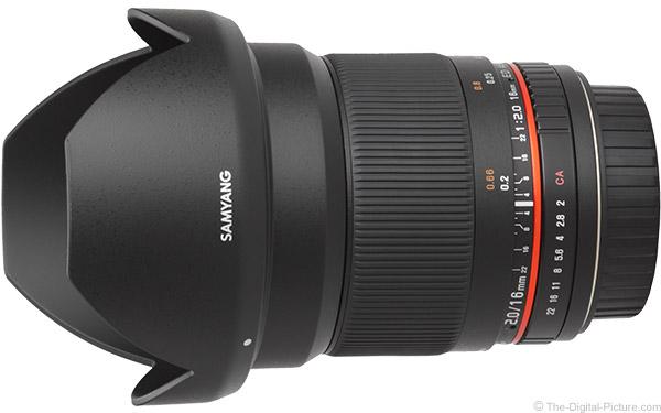 Samyang 16mm f/2 Lens Product Images