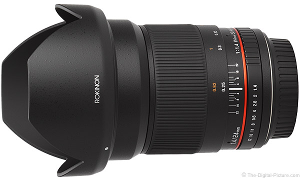 Samyang 24mm f/1.4 US UMC Lens Product Images