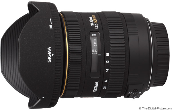 Sigma 10-20mm f/3.5 EX DC HSM Lens Product Images