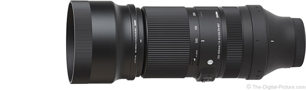 Sigma 100-400mm f/5-6.3 DG DN OS Contemporary Lens Product Images