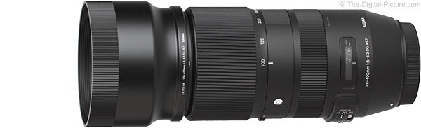Sigma 100-400mm f/5-6.3 DG OS HSM C Lens Product Images