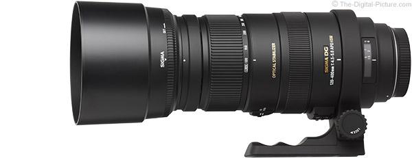 Sigma 120-400mm f/4.5-5.6 DG OS HSM Lens Product Images