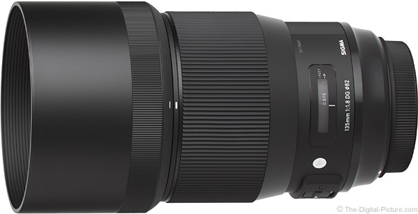 Sigma 135mm f/1.8 DG HSM Art Lens Product Images