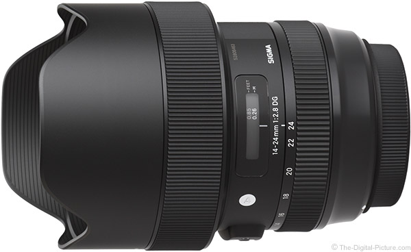 Sigma 14-24mm f/2.8 DG HSM Art Lens Product Images