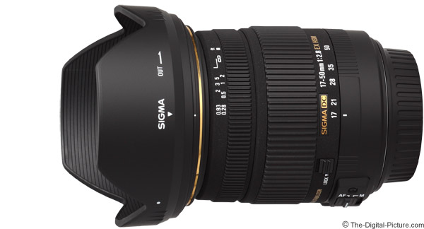 Sigma 17-50mm f/2.8 EX DC OS HSM Lens Product Images