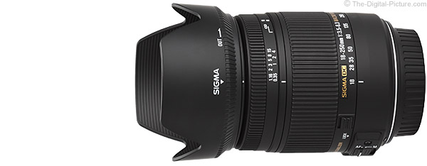 Sigma 18-250mm f/3.5-6.3 DC Macro OS HSM Product Images