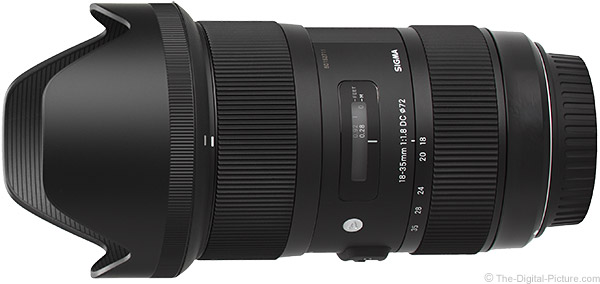 Sigma 18-35mm f/1.8 DC HSM Art Lens Product Images