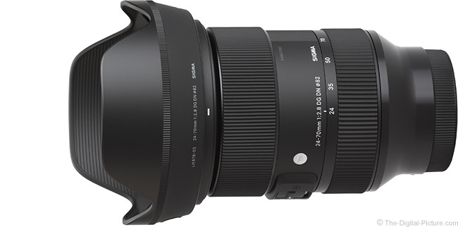 Sigma 24-70mm f/2.8 DG DN Art Lens Product Images