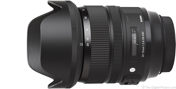 Sigma 24-70mm f/2.8 OS Art Lens Product Images