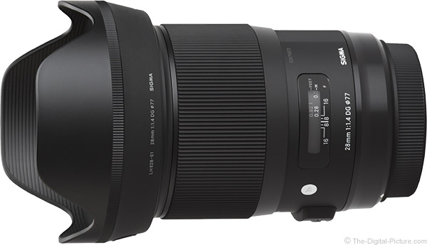 Sigma 28mm f/1.4 DG HSM Art Lens Product Images
