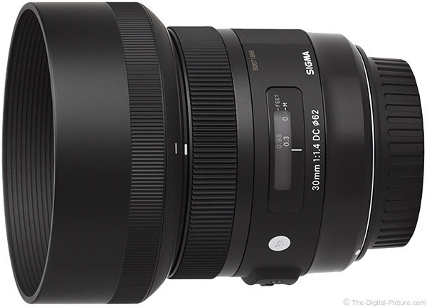 Sigma 30mm f/1.4 DC HSM Art Lens Product Images