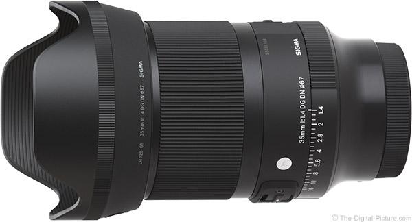 Sigma 35mm f/1.4 DG DN Art Lens Product Images