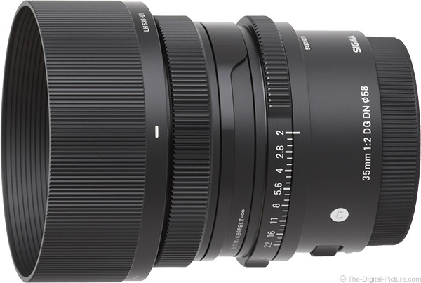 Sigma 35mm f/2 DG DN Contemporary Lens Product Images