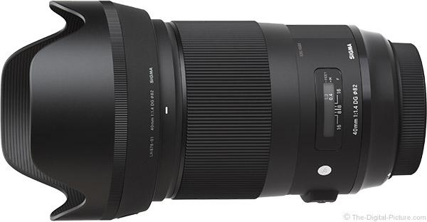 Sigma 40mm f/1.4 DG HSM Art Lens Product Images