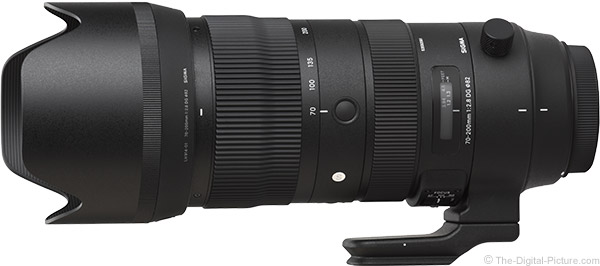 Sigma 70-200mm f/2.8 DG OS HSM Sports Lens Product Images